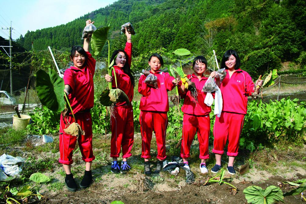 Japan's rural home stay